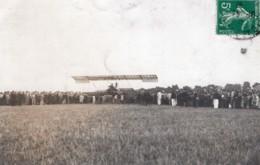 France Pionniers De L'Aviation Farman Ou Delagrange? Ancienne Carte Photo 1910 - Aviation