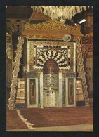 Saudi Arabia Picture Postcard Holy Central Prayer Niche Of Prophet's Mosque Medina Madina Islamic View Card - Saudi Arabia