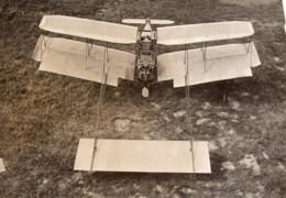 Biplan Ernest Zens Moteur Antoinette 50HP Aviation Ancienne Photo Rol 1908 - Aviation