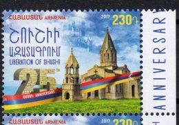 ARMENIA, 2017, MNH, LIBERATION OF SUSHI, CHURCHES,1v - Other