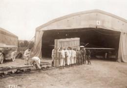 Aviation Manoeuvres De L'Ouest Transport De Materiel Pétolat-Dijon Ancienne Photo Branger 1911 - Aviation