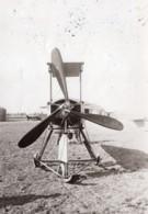 Reims Aviation Militaire Moteur Breguet Helice Ancienne Photo Meurisse 1911 - Aviation