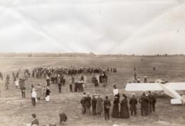 Aviation Brindejonc Des Moulinais Morane Saulnier Ancienne Photo Juin 1913 - Aviation