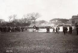 Marseille Aviation Brindejonc Des Moulinais Morane Saulnier Ancienne Photo 1914 - Aviation