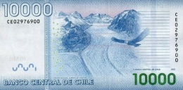 CHILE P. 164d 10000 P 2013 UNC - Chili