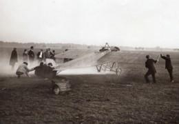 Aviation Brindejonc Des Moulinais Morane Saulnier Coupe Pommery Ancienne Photo Juin 1913 - Aviation