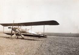 France Reims Aviation Militaire Biplan Breguet Henri Bregi? Ancienne Photo Branger 1911 - Aviation