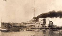 Croiseur Allemand SMS Blücher WWI Ancienne Photo Rol 1914-1918 - Boats