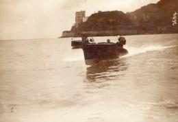 Meeting De Monaco Canots Automobiles Ancienne Photo Meurisse 1913 - Boats