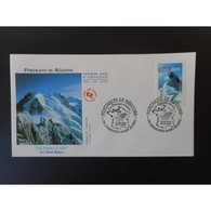 FDC - Le Mont Blanc - Oblit 20/9/2003 Chamonix Mont Blanc - FDC