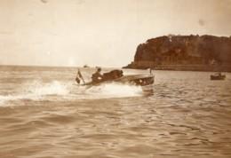Meeting De Monaco Canot Automobile Youki Tellier ? Ancienne Photo Rol 1913 - Boats