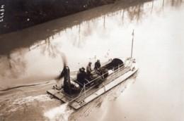 Essai De Bateau Borel Helice Aerienne Type Postal Ancienne Photo Meurisse 1914 - Boats