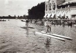 Paris Lac D'Enghien Concours Cycles Nautiques Louis Ancienne Photo Branger 1914 - Sports