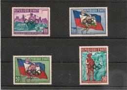 HAITI Année 1960  J.O D'hiver N°Y/T :  430** Et P.A. N° 184/186** - Haiti