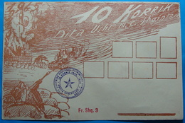 1948 Albania, Postal Stationery Cover 10 JULY THE DAY OF ALBANIAN ARMY, Very Rare - Albania