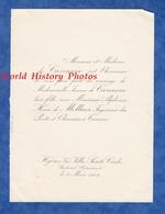 Document De 1902 - HYERES ( Var ) - Villa Sainte Cécile - Mariage Jeanne De CAZENOVE & Alphonse Henri De MOLLINS - Mariage