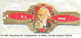 Vitolas Roquende Jan. Compositores. FM. Ref. 14-1455 - Vitolas (Anillas De Puros)