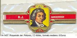 Vitolas Roquende Jan. Pintores. FM. Ref. 14-1457 - Vitolas (Anillas De Puros)