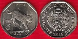 """Peru 1 Sol 2018 """"Jaguar"""" UNC - Peru"""