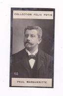 Photo 1ère Collection Félix Potin (chocolat), Homme De Lettres Paul Margueritte, Phot. Nadar, Paris, Vers 1900 - Album & Collezioni
