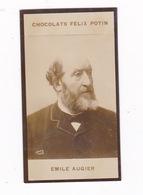 Photo 1ère Collection Félix Potin (chocolat), Homme De Lettres Emile Augier, Phot. Boyer, Paris, Vers 1900 - Albums & Collections