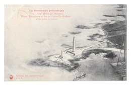 (22368-50) Gatteville  Phare Sémaphore - Vue Prise En Avion - Other Municipalities