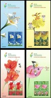 Special S/s Of 2018 Taichung World Flora Exposition Stamps Lily Orchid Gladioli Flamingo Flower - Environment & Climate Protection