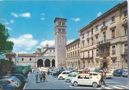 Rieti - Piazza Cesare Battisti - Cattedrale E Torre Campanaria - H4876 - Rieti
