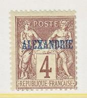 France Alexandrie 4   * - Alexandria (1899-1931)