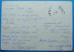 1972 Albania Vlora Postcard Sent From MILITARY BASE FIER To Tirana, Seal: MILITARY - Albania