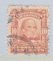 U.S. 307  (o)  DANIEL  WEBSTER - Unused Stamps