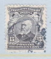 U.S. 308  (o)  PRES.  HARRISON - Unused Stamps