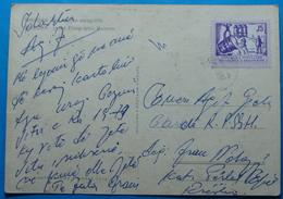 1978 Albania Shkodra Postcard Sent From Reshen To Military Base,  Seal: RESHEN, Stamp: 15q. Heavy Industry, RARE - Albania