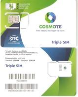Greece-COSMOTE GSM New Triple Sim, Mint - Greece