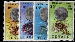 Tuvalu 1976 New Coinage Unmounted Mint. - Tuvalu