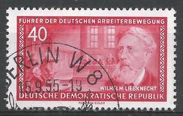 German Democratic Republic 1955. Scott #249 (U) Wilhelm Liebknecht, German Communist * - [6] Democratic Republic