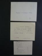 """CAMBODGE  PHNOM-PENH RESIDENT SUPERIEUR Carte D'invitation """"Faire L'Honneur De Venir Déjeuner"""" 1912  2018 Alb 5 - Announcements"""