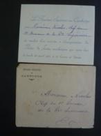 """PHNOM-PENH, RESIDENT SUPERIEUR Carte D'invitation """"Inauguration Du Palais De Justice Du CAMBODGE 1925  2018 Alb 5 - Announcements"""