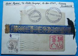 2005 Albania SPECIAL COVER Sent From DENMARK To TIRANA - Albania