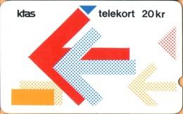 Denmark - GPT, TDKD008, Puzzle 6/9 Version 1, 3rd Edition SN: 020..., 2.500ex, 12/86, VF Used - Denmark