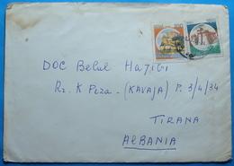1994 Albania Airmail Cover Sent From ROMA Italia To TIRANA - Albania