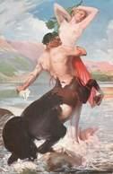 CPA NU DE SALON - Paintings