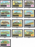 St Kitts SG29A-41A 1980 Definitive Set 13v Complete Unmounted Mint [38/31634/1D] - St.Kitts And Nevis ( 1983-...)