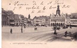 02 - Saint Quentin - Vue Generale De La Place - Saint Quentin