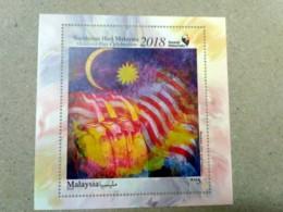 Malaysia Day Celebration 2018 Painting Art Combo MS Miniture Sheet MNH - Malaysia (1964-...)