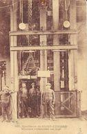 Houillères De St Saint-Etienne - Mineurs Remontant Au Jour - Puits (?) - Carte M.M. N° 321 Non Circulée - Saint Etienne