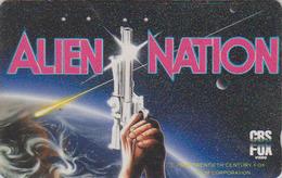 Télécarte Japon / 110-011 - CINEMA - ALIEN NATION - Japan Movie Science Fiction Phonecard - Kino TK - 10836 - Cinéma