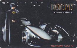 Télécarte Japon / 110-74011 - Cinema Film - BATMAN / BAT Chauve Souris - Japan Movie Phonecard - Kino TK - 10840 - Cinéma