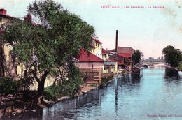 54 - LUNEVILLE Les Tanneries La Vezouze - Luneville