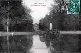 54 Luneville Le Bassin Des Cygnes - Luneville